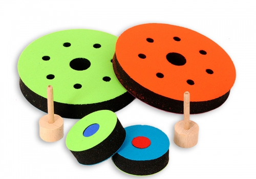 NeoFlitzer®Airhockey Set